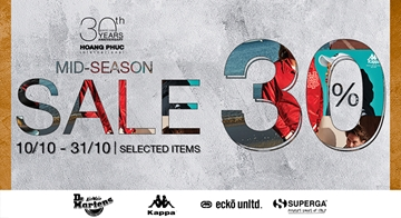MID SEASON SALE HOANG PHUC INTERNATIONAL