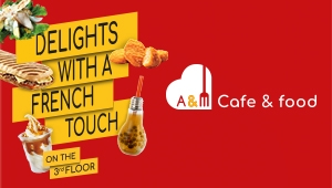 AM CAFE & FOOD – DELIGHT WITH A FRENCH TOUCH ON THE THIRD FLOOR AT NHATRANG CENTER