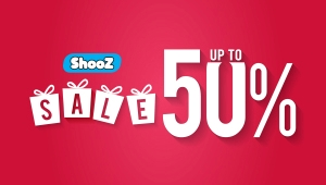 SHOOZ SALE UP TO 50% (20/07 – 31/07)